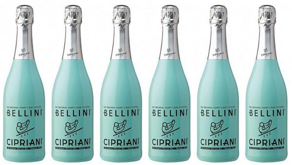 6 Stück Bellini Cipriani Cocktail Ponte