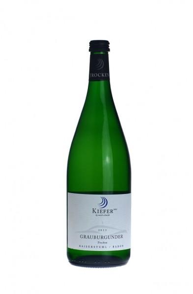 Kiefer Grauburgunder Qualitätswein trocken 2016 Liter