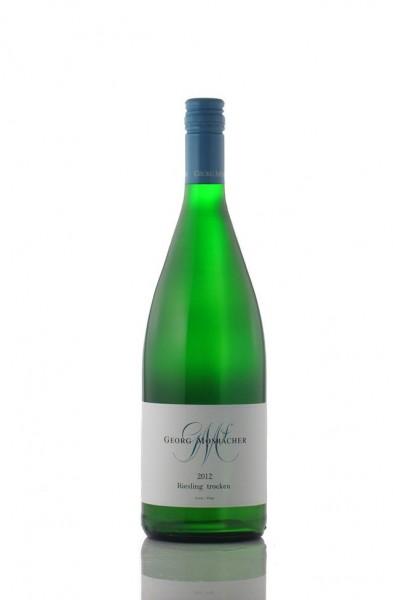 Mosbacher Riesling Liter Qualitätswein trocken 2015
