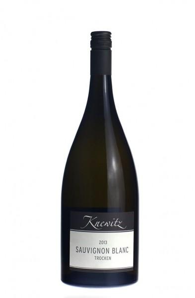 Knewitz Sauvignon Blanc QbA trocken 1,5 Ltr. Magnum 2015