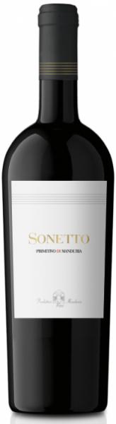 Produttori Vini Manduria Sonetto Primitivo di Manduria DOC 2012