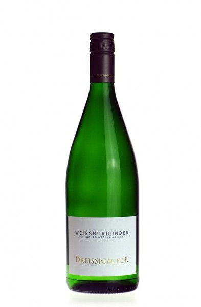 Dreissigacker Weißburgunder QbA Liter trocken 2016