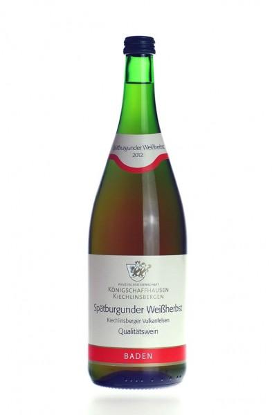 Kiechlingsberger Spätburgunder Weißherbst Liter 2014
