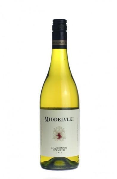 Middelvlei Chardonnay Unoaked 2012