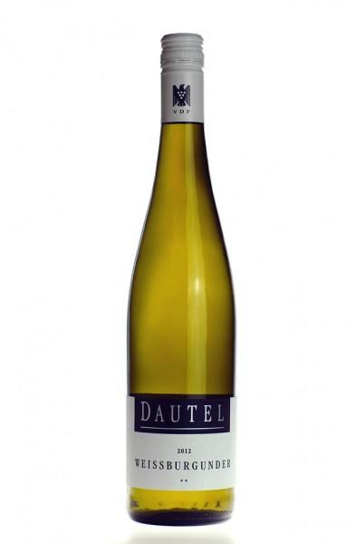 Dautel Weißburgunder ** Qualitätswein trocken 2016