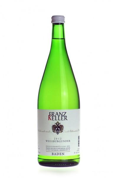 Franz Keller Weissburgunder QbA trocken Liter