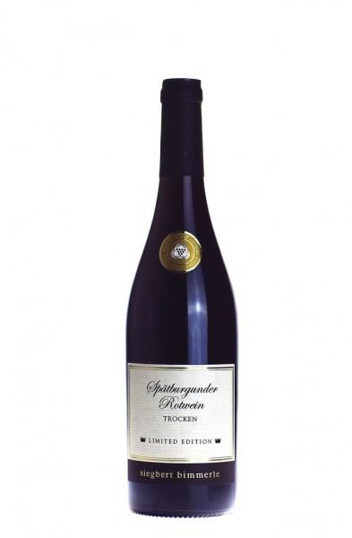 Bimmerle Spätburgunder Rotwein Qba trocken 2013
