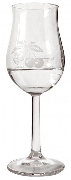 Scheibel Glas Höhe 15cm