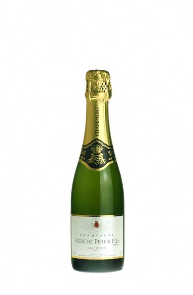 Champagner Bouche Cuvee Reserve Brut, weiss,0.375l